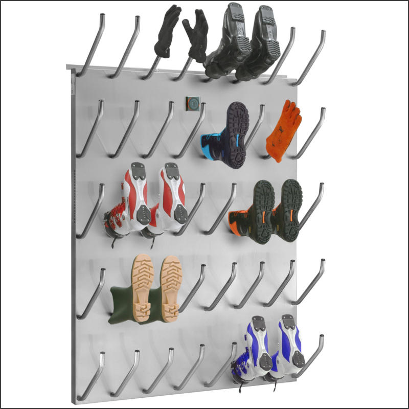 Shoe and boot dryers featuring integrated room ventilation